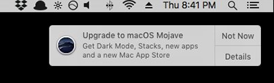 Disable macOS Upgrade Notifications